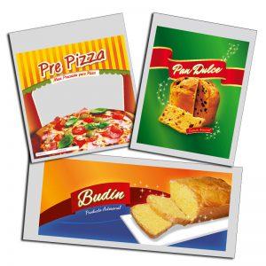 Categoría bolsas para Alimentos estándar
