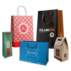 Categoría bolsas Papel y Cartulina personalizadas